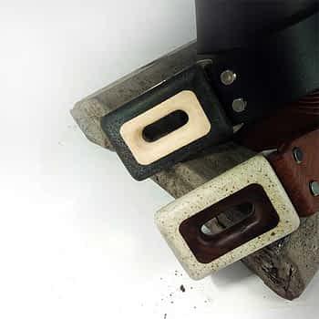 černý a hnědý pánksý kožený pásek široký 4 cm, využití: streetwear, pánské pásky, unisex